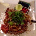 Vietnamese noodles with steak