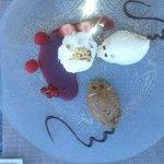 Dessert : duo de mousse au chocolat