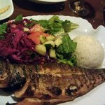 Sea Bass - Served Whole - Grilled - nice!