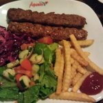 Lamb Adana Kebab - at the servers recommendation - good stuff!