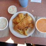 Clam Chowder Fish/Chips Lobster Bisque