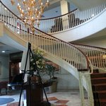 Lobby stairs to the second floor