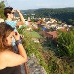 Uitzicht vanaf de oude stad