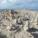 Le sculture di sassi