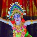 The beautiful dancer of Puri Bagus