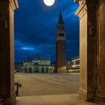 Canaletto vantage point of St Mark's Square