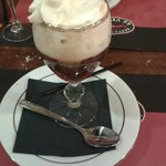 en guise de dessert