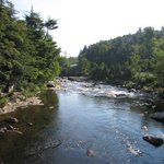 The Ausable above the falls
