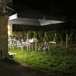 La table dans les vignes !
