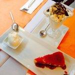 Cheese cake & ıceceeam