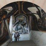 Gigantic murals....
