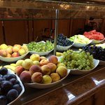 Fresh fruit selection.