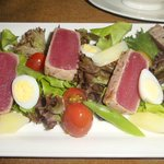 Delicious, Fresh Tuna Salad in the Oceanic