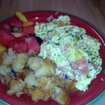 Scrambled Eggs with House Cured Salmon
