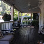Coffee on the porch in the morning