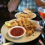 Calamari -a little bland but nice and crispy
