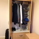 Wardrobe space