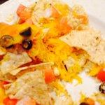Undercooked nachos