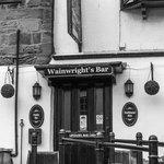 Wainwright's pub on the beach