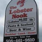The Lobster Nook Sign