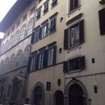 B&B from the outside on Via Maggio