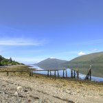 View of Loch Linnhe in front of the hotel