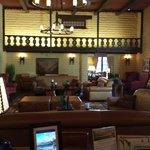 Historic lobby at the Camelback Inn