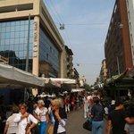 marked foran hotellet
