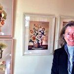 Ann Dunham loved the decor at Gite Le Presbytere B&B, Perce, Gaspe, Quebec. Photo by Terry Hunef