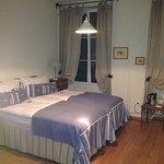 Our room at Auberge de la Gare