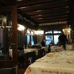 Awaiting our dinner at Al Sangiovese
