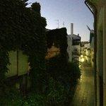 Panorama dalla camera al mattino