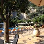 la section piscine