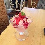 My little ladies strawberry ice cream