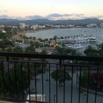 Early Evening on Balcony