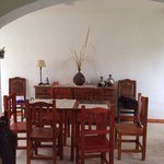 Sala principal, común a todas las habitaciones