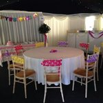 Amazing party for our little girl