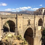 Yes lovely bridge, good views. Go see it. 1 day is more than enough in Ronda