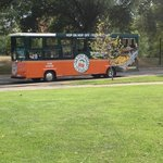 Our tour trolley
