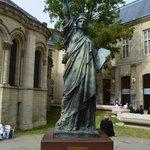 Modelo da estátua da liberdade