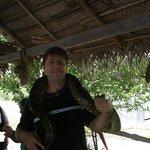 Me with a Anaconda