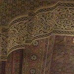 Ceiling above the breakfast nook