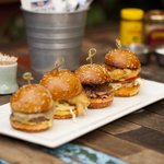 Sliders - Choice of Chicken, Fish, Beef, Zucchini Fritter and Duck