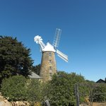 View of the windmill
