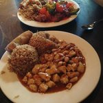 Kung Pao Chicken and Sweet & Sour Chicken