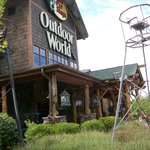 Connected to Bass Pro Shops On Property