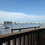 View from Harbor Docks restaurant near by.