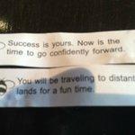 Good fortunes!