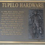 Tupelo Hardware plaque