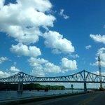 The bridge at Winona....from the Boathouse